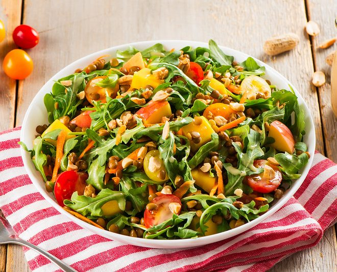 'Peanuts and Pulses' Summer Salad