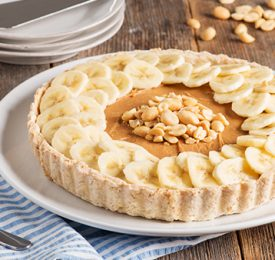Nutty Banoffee Pie
