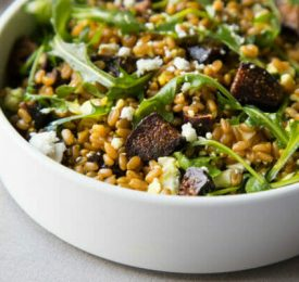 California Fig and Farro Salad