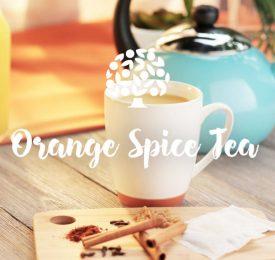 Thé à l'orange et aux épices