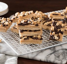 Chocolate Peanut Butter Caramel Bars