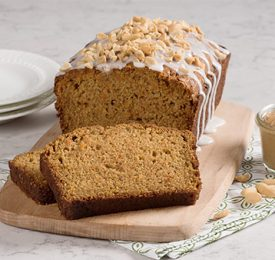 Nutty Carrot Loaf