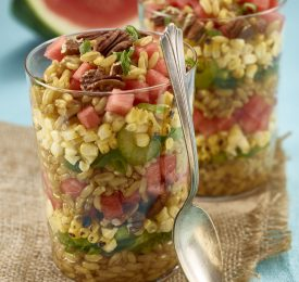 Ancient Grain Watermelon Salad