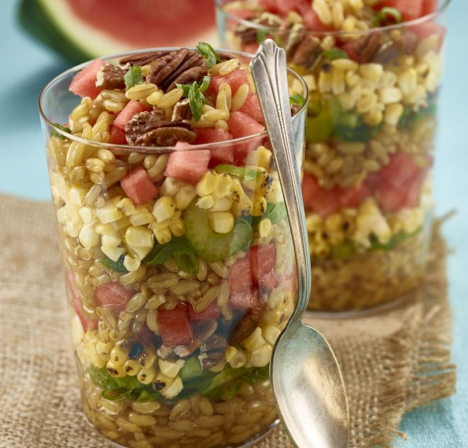 Ancient Grain Watermelon Salad