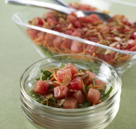 Gingered Japanese Watermelon Salad