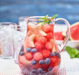 Watermelon Infused Water