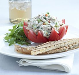 Best Chicken Salad Stuffed Florida Tomato Crowns