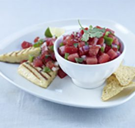 Salsa de tomates de Floride fraîches
