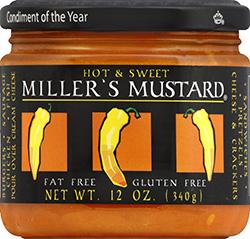 Œufs farcis à la moutarde de Miller
