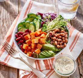 Southern Sweet Potato Power Bowl