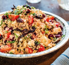 Quinoa Salad with California Prunes & Feta
