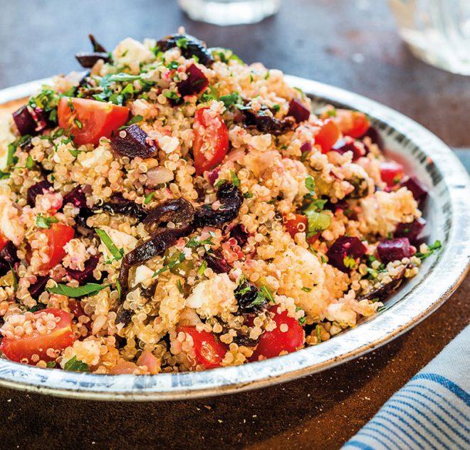 Quinoa Salad with California Prunes & Feta