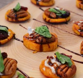 Savoury Sweet Potato Rounds