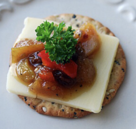 PEAR APPLE CHUTNEY