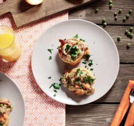 Kid-Friendly OJ Chicken Pot Popover Recipe