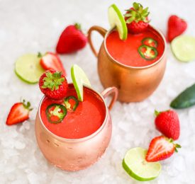 Frozen Strawberry Mexican Mule
