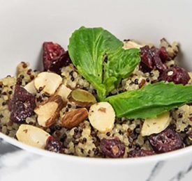 Almond Quinoa Power Bowl