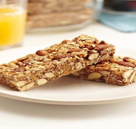 Sweet & Salty Almond Breakfast Bars