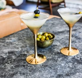 California Olive Dirty Martini